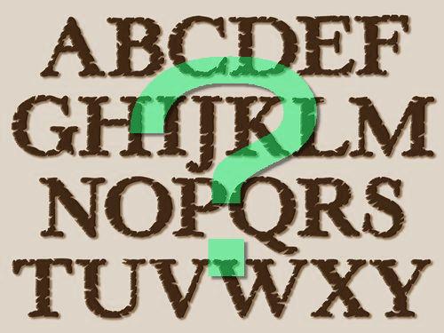 アルファベットを線対象00