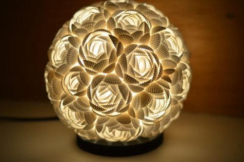 貝殻のランプ01
