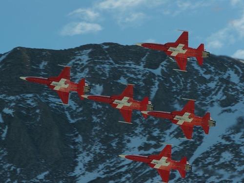 スイス空軍飛行隊02