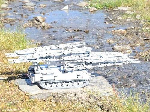 レゴの架橋戦車00