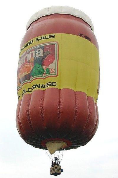奇抜なデザインをした世界のおもしろ気球14