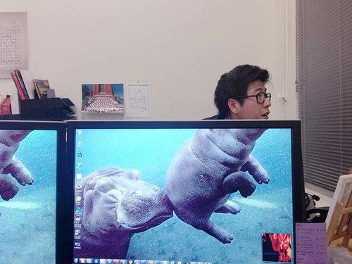 職場で「動物園ごっこ」02