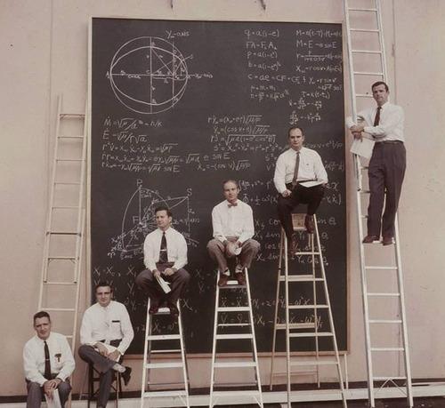 パワーポイントがなかった頃、1961年のNASA01