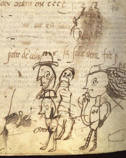 中世ヨーロッパの落書き03