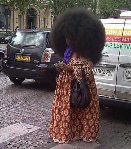 世界一のアフロ女性08