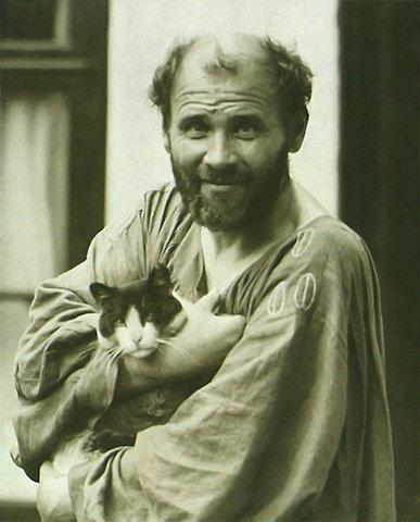 芸術家と猫 katze