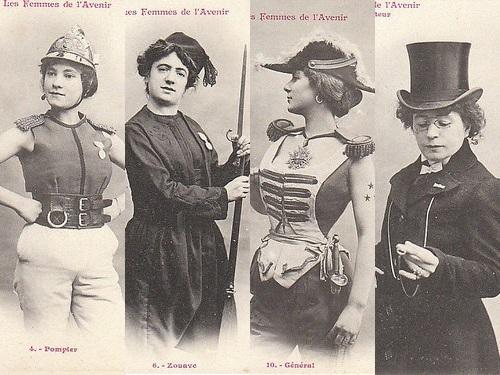 100年前に想像した未来の女性像00