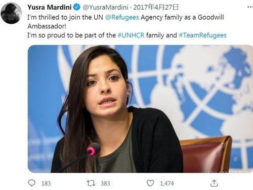 難民選手団のシリア女子ユスラ・マルディニ00