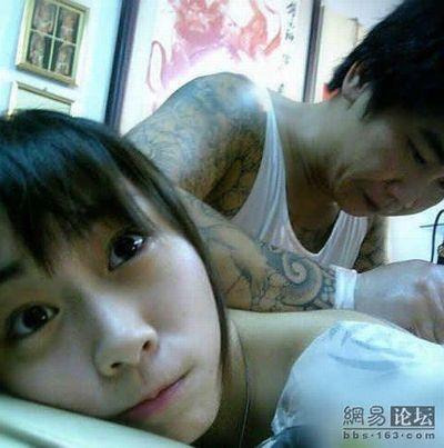 美少女のタトゥー02