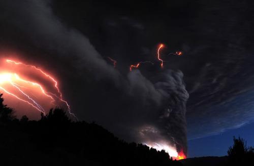 チリのプジェウエ火山10