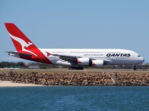 カンタス航空が最後のボーイング747のフライト00