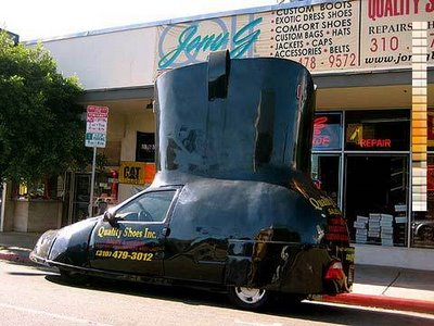 靴の形をした車11