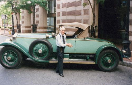 78年も同じ車に乗り続けたおじいちゃん01