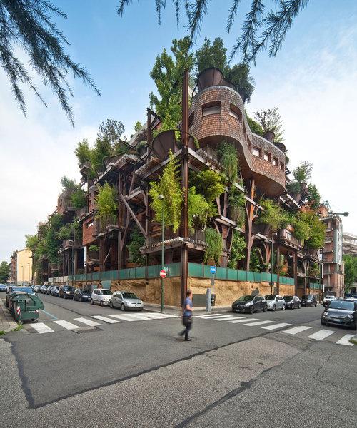 150本の木を所持するアパート01