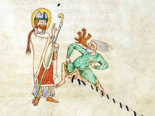 中世の本の挿絵03