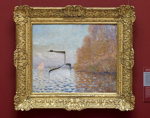 800万ドルのモネの絵画01