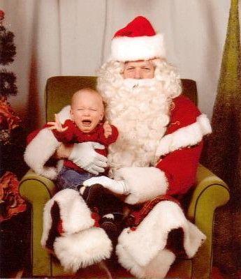 サンタクロースが怖い06