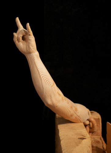 木彫りアート11