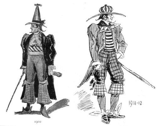 19世紀に想像した20世紀のファッション04