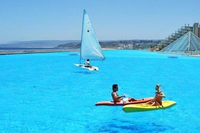 ギネス記録の世界最大のリゾートプールの大きさ05