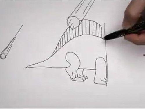 進化のアニメーション