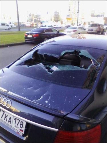 ロシアで車の警報機が一晩中鳴った結果07