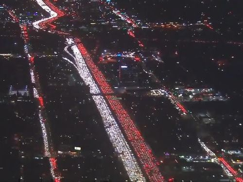ロサンゼルスの渋滞04