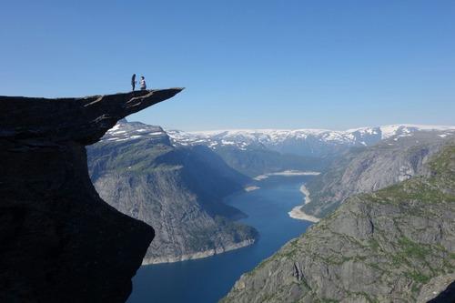 ノルウェーでプロポーズ01