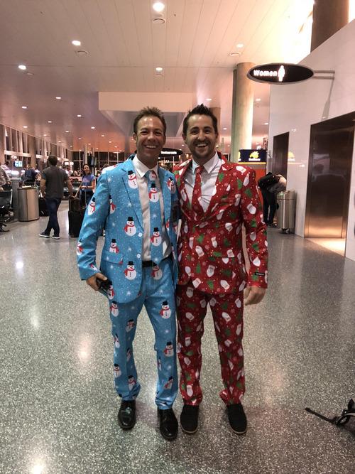 クリスマスの空港で親友になった01