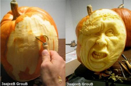 かぼちゃ彫刻00