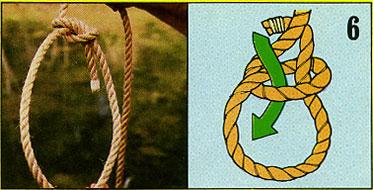 ロープの結び方06