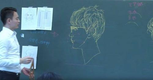 絵の上手な教師の人体図01