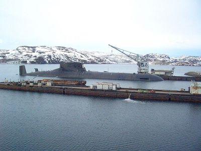 タイフーン級原子力潜水艦00