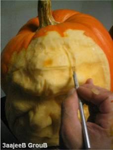かぼちゃ彫刻07