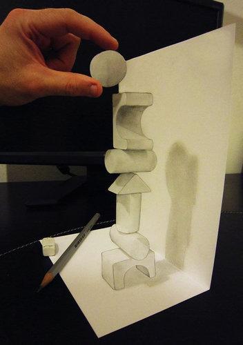 驚異的な3Dアート10