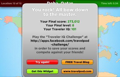 トラベラーIQチャレンジ「The Traveler IQ Challenge」15