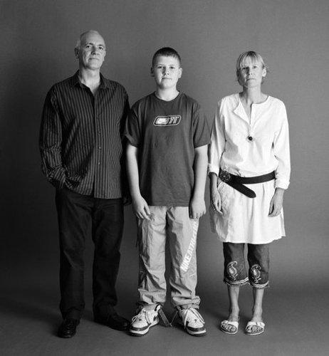 21年間の父、母、息子の写真14