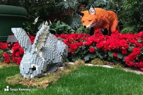 サンアントニオ動物園がレゴの動物を展示17
