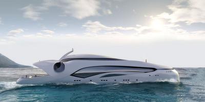 未来的なヨット01