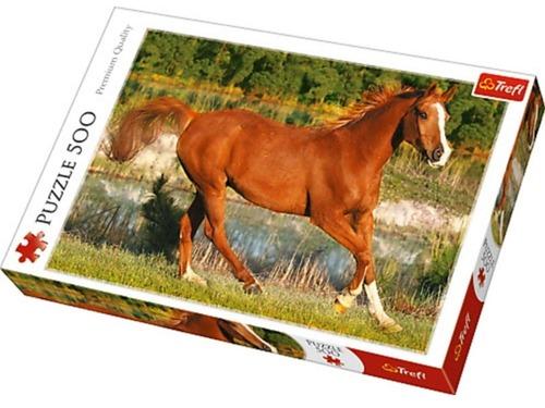 馬のジグソーパズルが完成