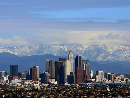 今朝のロサンゼルスの通勤状況00