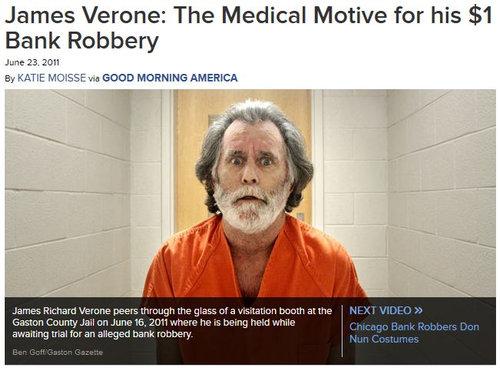 刑務所で医療を受けるため1ドルを盗む01