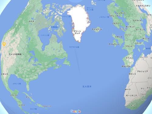 グリーンランドのサッカースタジアム