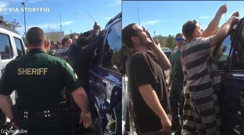 受刑者が車上荒らしの技術を使って女児を救出01