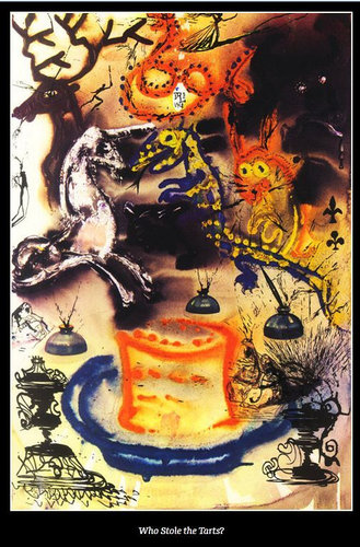 ダリが描いた不思議の国のアリス12