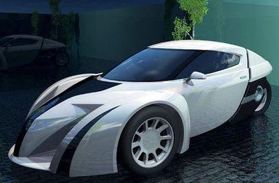 ポルシェより速い三輪自動車01