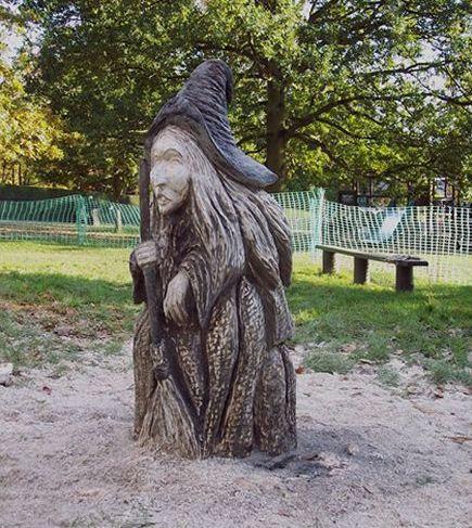 チェーンソー彫刻22