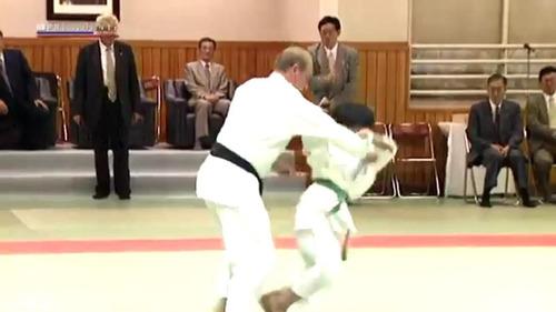 プーチン大統領と柔道05
