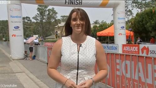 オーストラリアの自転車レースフィニッシュ01