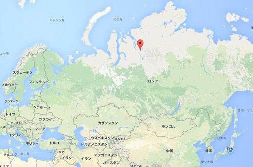 ロシアで水道管が破裂05
